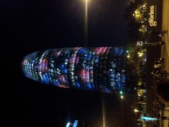 Torre Agbar - a symbol of contemporary Barcelona