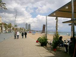 Plages.Barcelone